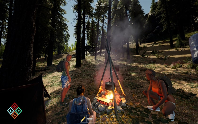 the gold river projekt camping