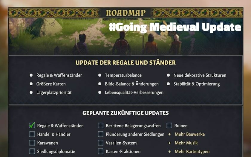 going medieval regale update